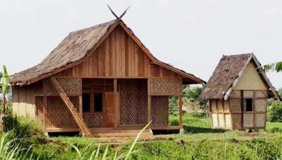 gambar rumah adat suku sunda