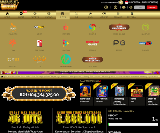 Macauslot188 Agen Judi Slot Online Deposit Pulsa Profile Jabiru Forum