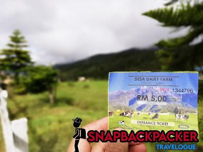 Tiket Masuk Dairy Farm Kundasang