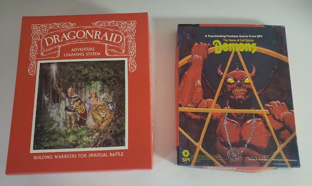 DragonRaid vs. Demons