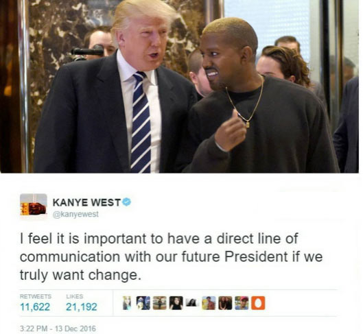 Kanye West cuts ties with Donald Trump, deletes pro-Trump tweets