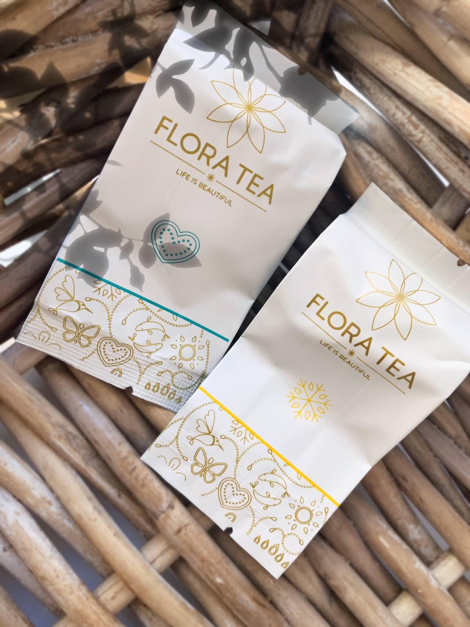 Theebloemen van Flora Tea!
