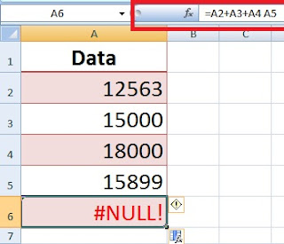6 Common Types of Excel Errors with Example in Hindi