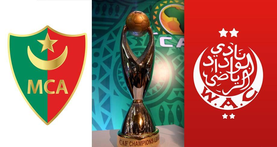 بث مباشر مباراة الوداد البيضاوي ومولودية الجزائر