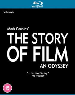 Blu-ray title written in white san serif font on a black background