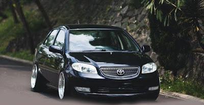 Toyota Vios Hellaflush