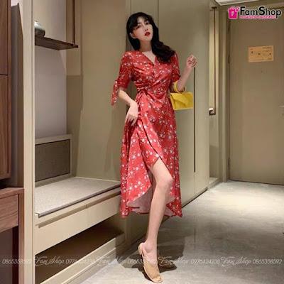 Shop bán váy maxi rẻ tại Minh Khai
