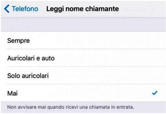 funzione di iOS 10
