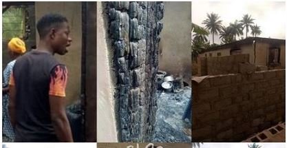 Wife Sets Her Husband's House On Fire In Osun State