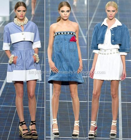 Деним Тенденции пролет-лято 2013 Chanel