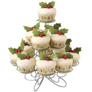 Decoración Navideña, Cup Cake