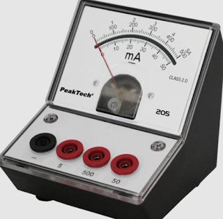 ampere meter analog