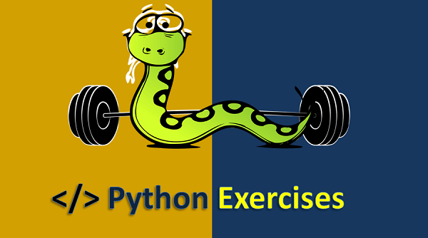 Develop your skills in Python with this exercises