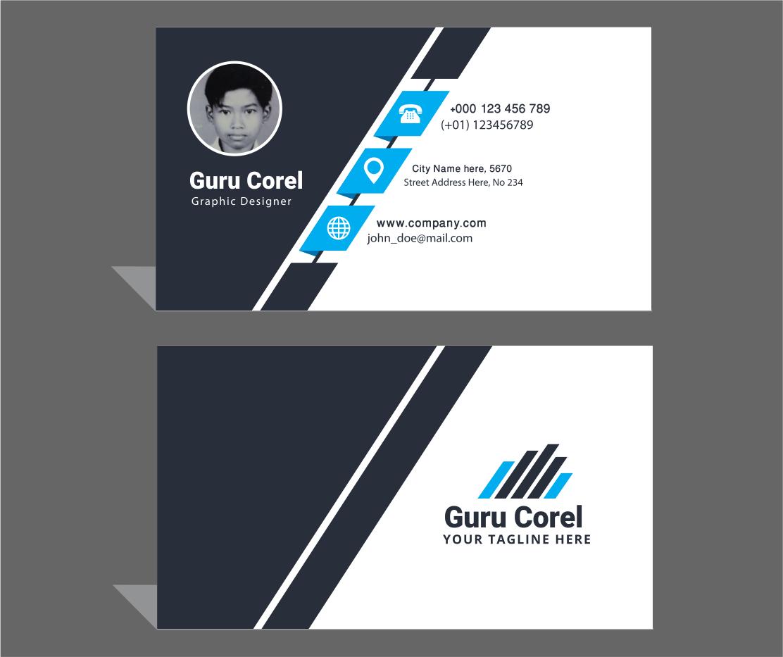 Membuat Id Card Keren Dengan Coreldraw - Kepingan Ii   CODE ILMU