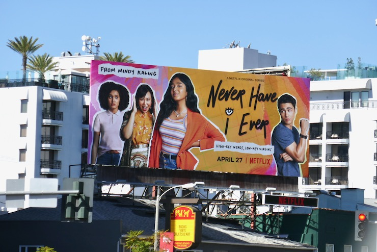 Never Have I Ever Netflix series billboard