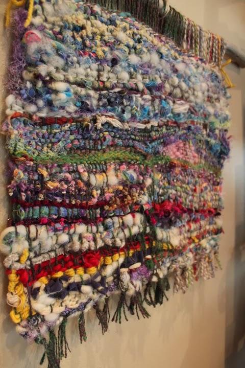 Fiber Art By Juneko Experimental Weaving