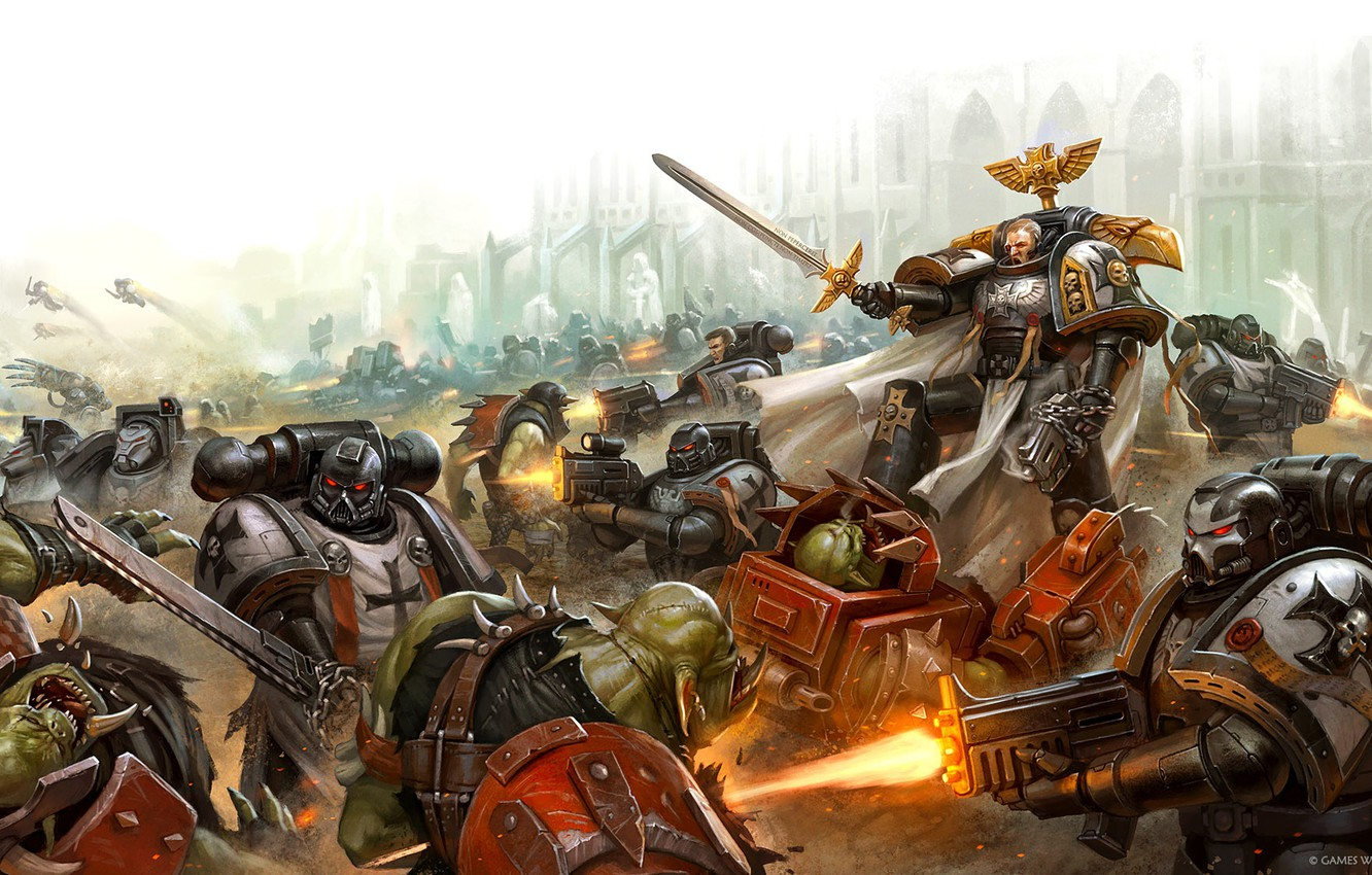 Rumors: Black Templar vs Orks Box