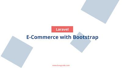 E-Commerce Laravel Bootstrap
