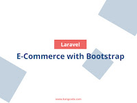 Source Code E-Commerce Laravel Bootstrap Tampilan Responsive