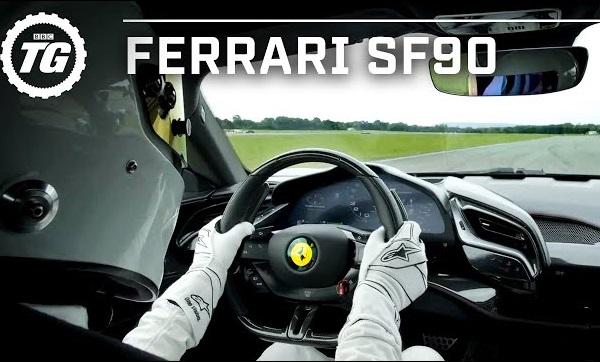 Ferrari SF90 Stradale Récord Top Gear