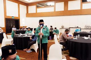 Polda Metro Jaya lakukan FGD untuk  memutus mata rantai penyebaran covid-19.