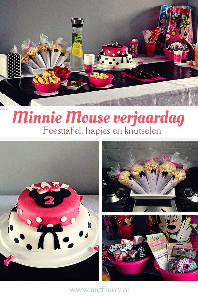 Minnie Mouse Verjaardag Mizflurry