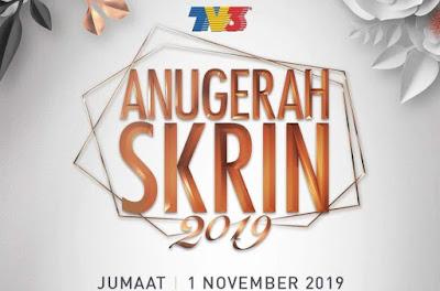 Live Streaming ASK 2019 Anugerah Skrin TV3