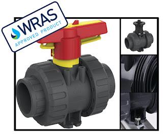 Praher M1 PVC-U Ball Valve – NOW WRAS APPROVED!