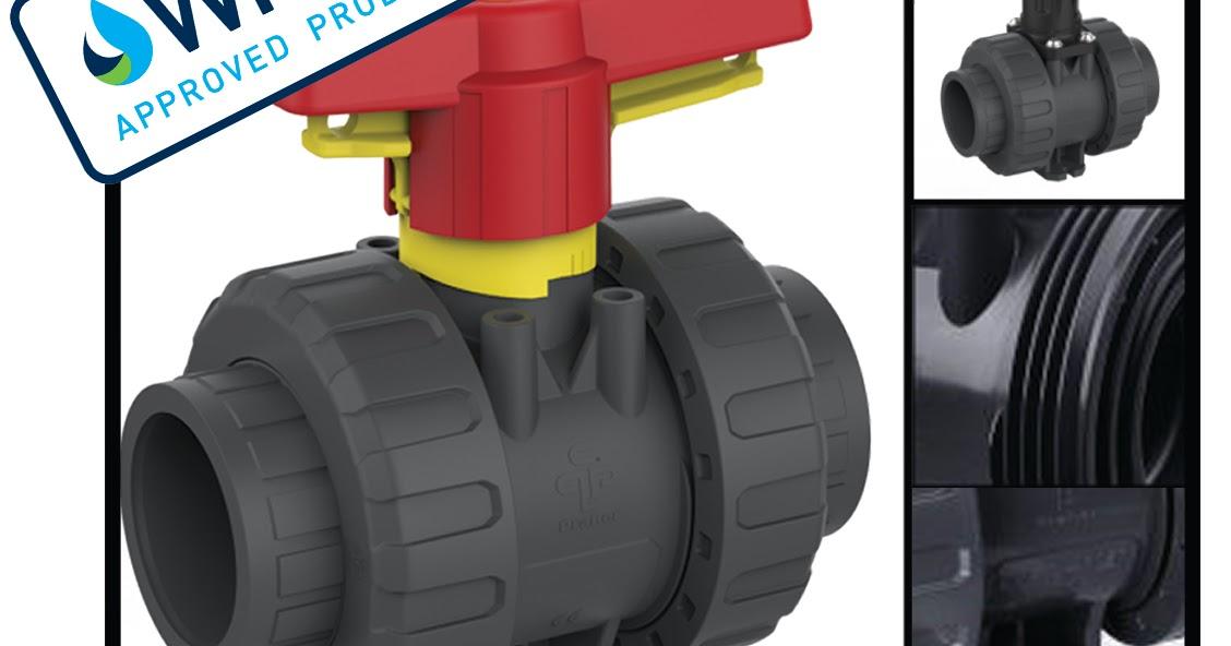 Praher M1 PVC-U Ball Valve – NOW WRAS APPROVED!