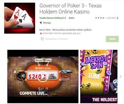 Inilah Game Poker Online Uang Asli Yang Sangat Menguntungkan