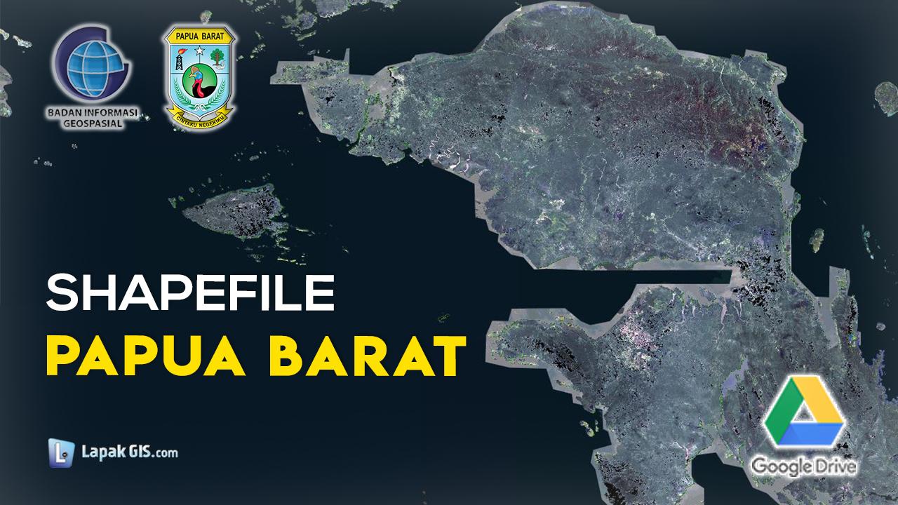 Shapefile Provinsi Papua Barat Terbaru