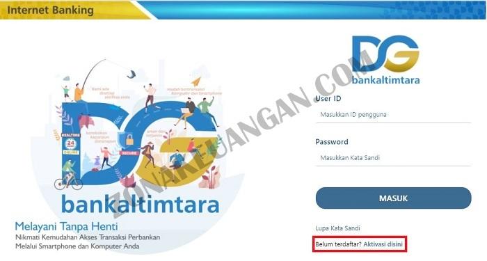 Cara Daftar Aplikasi Dg Bankaltimtara Zonakeuangan Com