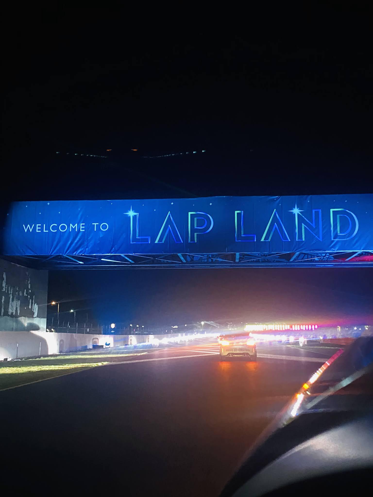 Lap Land Silverstone Review Entrance Banner
