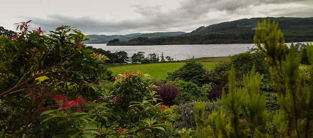Photo of the view of Loch Awe from the cottage
