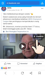 Cara download facebook video