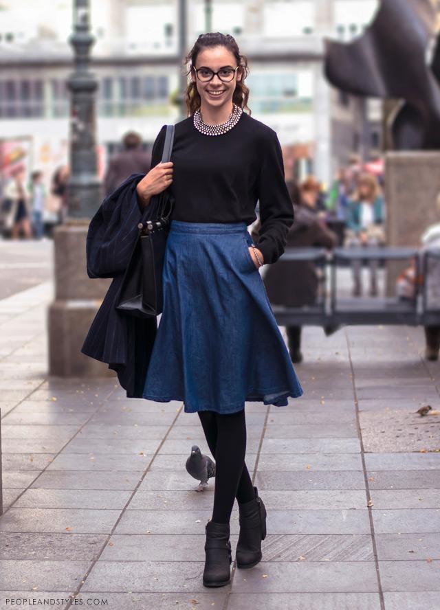 Zara Troskot latest street winter 2014 fashion