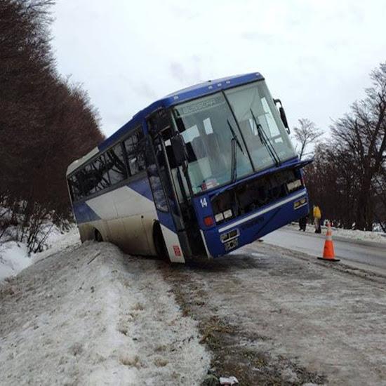 Despiste de colectivo en la Ruta 3
