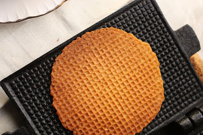 cuisson gaufrettes moule en fonte