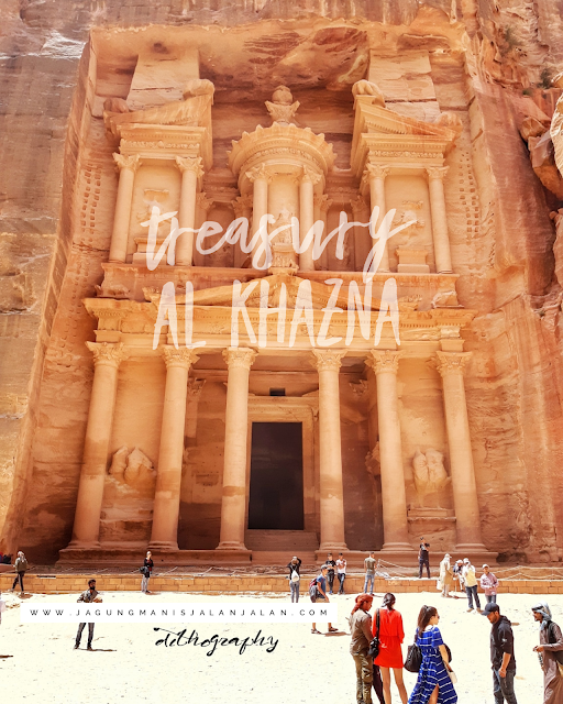 all kazna, petra, the rose red city