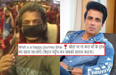 Sonu Sood is arranging buses for migrants