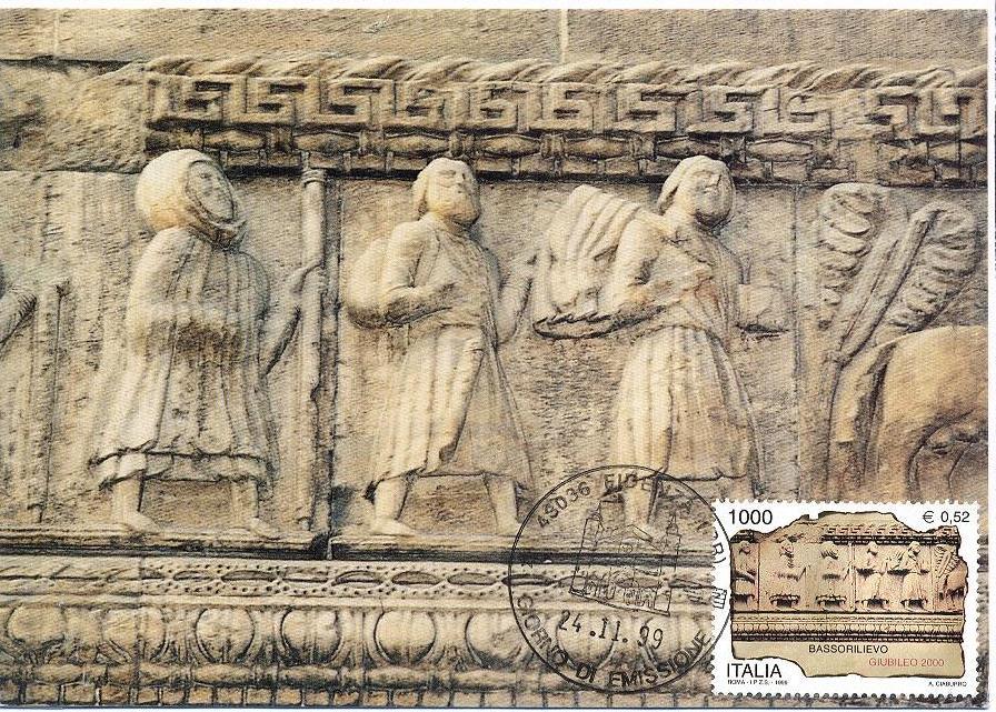 17489bd2f9 il francobollo è stato emesso il 24/11/1999 da Poste Italiane (serie di tre  fr.lli