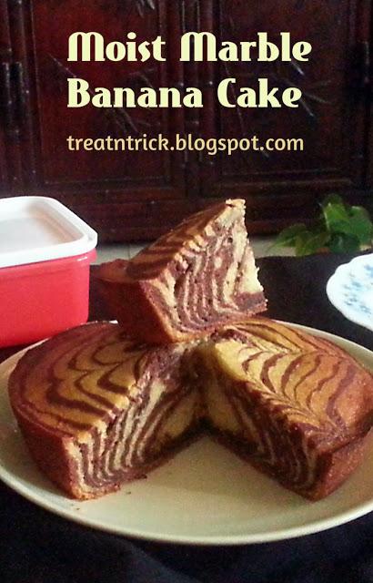 http://treatntrick.blogspot.com.es/2016/05/moist-marble-banana-cake.html
