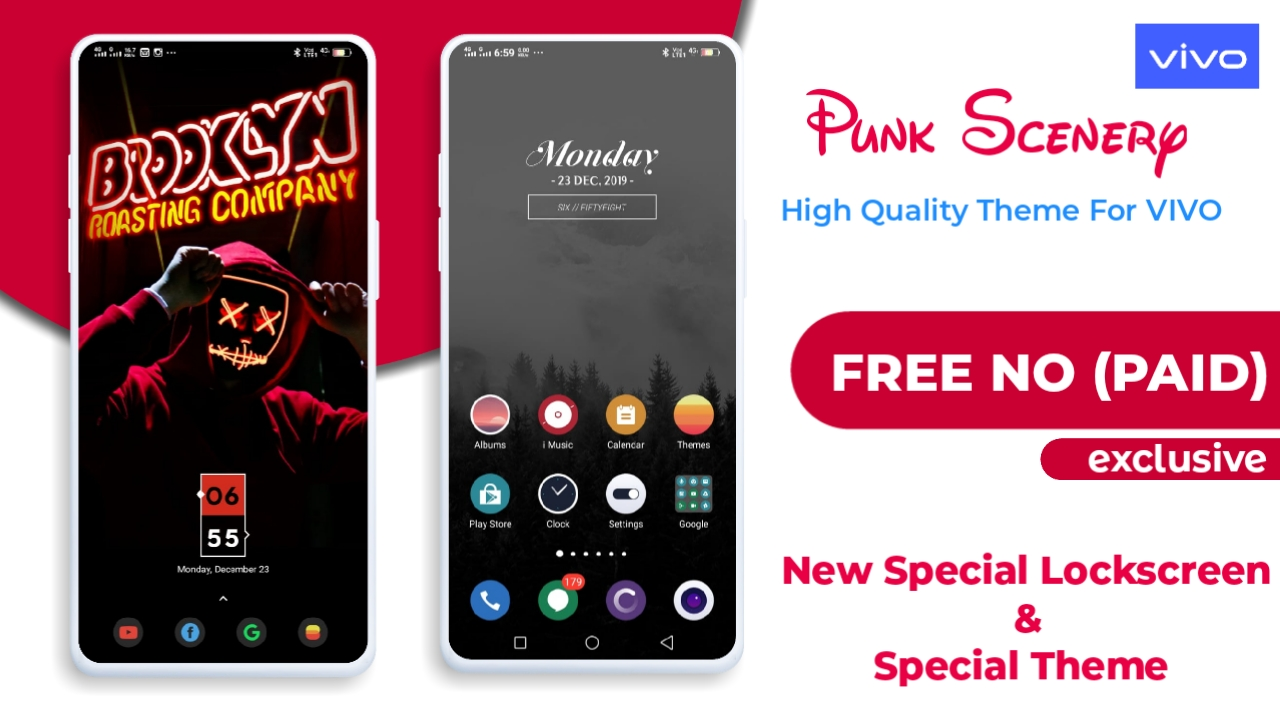 Punk Scenery Theme For Vivo Android By Friday Techno