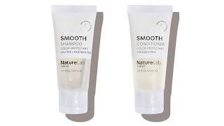 Nature lab Tokyo -Perfect smooth shampoo and conditioner