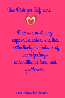 Colors 4 Health Pink for Self-care