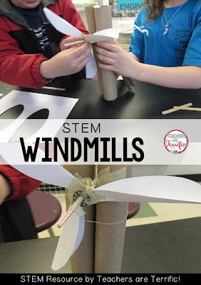 STEM Challenge all about building a windmill! Check this blog post for details!