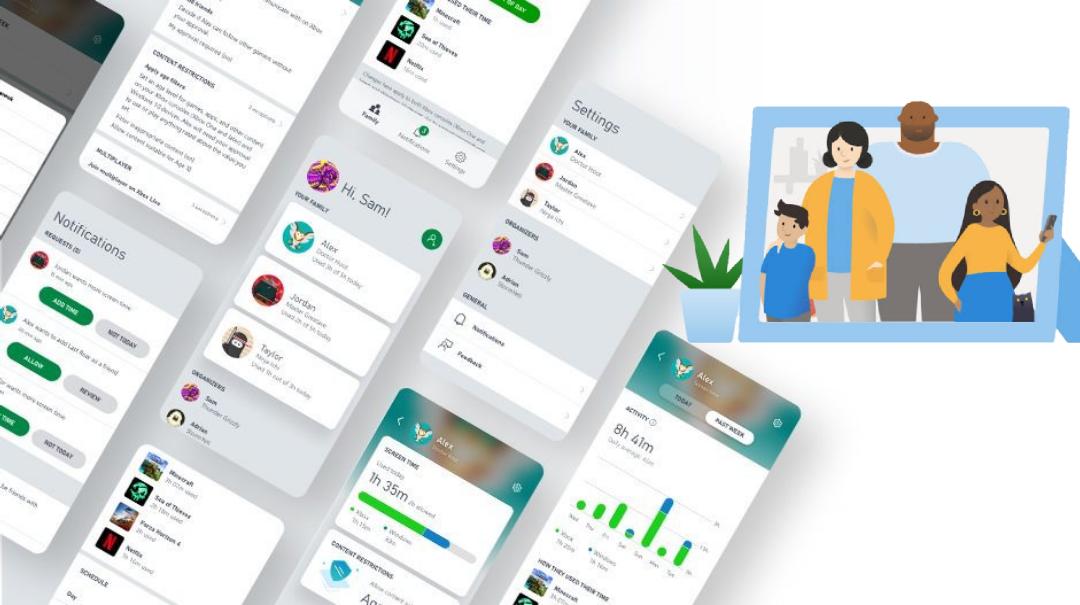 مايكروسوفت تطلق تطبيق Family Safety يضمن الاستخدام الآمن للإنترنت من قبل الأطفال