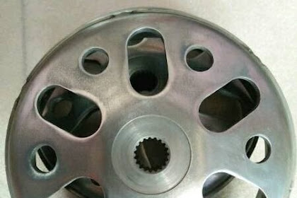 Modifikasi Motor Matic Beat Pakai Pulley Berlubang