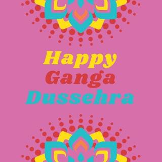 Ganga dussehra greetings