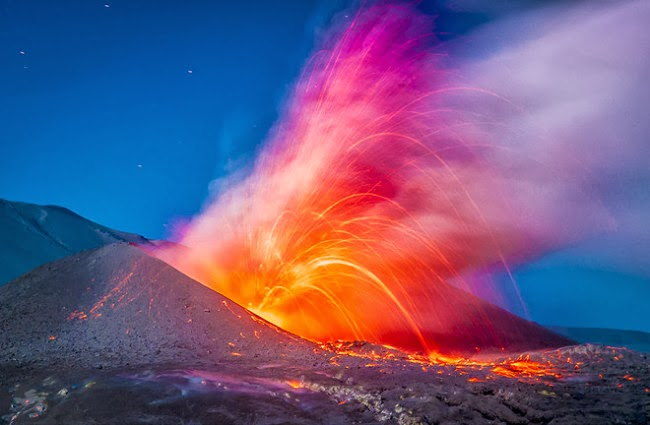 Suburban spaceman: Cordón Caulle: Volcanic Eruptions amidst